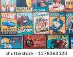 budapest  hungary   october 03  ... | Shutterstock . vector #1278363523