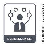 business skills icon vector on... | Shutterstock .eps vector #1278371593