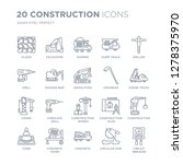 collection of 20 construction...   Shutterstock .eps vector #1278375970