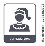 elf costume icon vector on... | Shutterstock .eps vector #1278383323