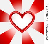 banner in the form of a red...   Shutterstock .eps vector #1278394153