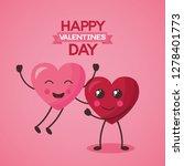 valentine day card   Shutterstock .eps vector #1278401773