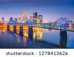 louisville  kentucky  usa... | Shutterstock . vector #1278413626