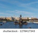 the petergof or peterhof  known ... | Shutterstock . vector #1278417343
