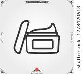 face cream vector icon....   Shutterstock .eps vector #1278420613
