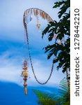 beautiful decorative balinese... | Shutterstock . vector #1278442210
