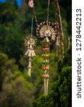beautiful decorative balinese... | Shutterstock . vector #1278442213