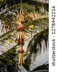beautiful decorative balinese... | Shutterstock . vector #1278442216