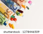 colored medical pills from... | Shutterstock . vector #1278446509