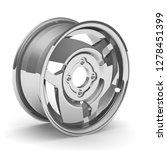 car cast disk. one car cast...   Shutterstock . vector #1278451399