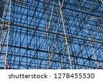 scaffolding framework... | Shutterstock . vector #1278455530