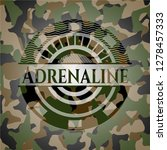 adrenaline on camouflaged...   Shutterstock .eps vector #1278457333