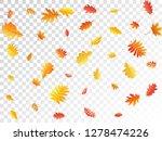 oak  maple  wild ash rowan... | Shutterstock .eps vector #1278474226