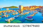 panoramic view of old port of...   Shutterstock . vector #1278479683