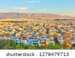 panoramic view of athens city...   Shutterstock . vector #1278479713