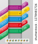 set of infographics elements.... | Shutterstock .eps vector #1278481726