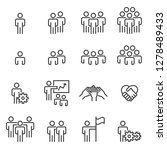 people icons line work group... | Shutterstock .eps vector #1278489433