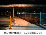 scary and dark urban city... | Shutterstock . vector #1278501739