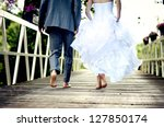 Beautiful Wedding Couple Is...
