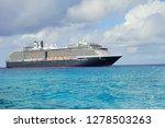 half moon bay   bahama   11 18... | Shutterstock . vector #1278503263