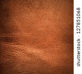 brown textured  leather... | Shutterstock . vector #127851068