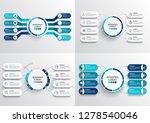 set vector infographic template ... | Shutterstock .eps vector #1278540046