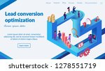 conversion optimization...   Shutterstock .eps vector #1278551719