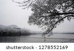 snowscape of west lake in... | Shutterstock . vector #1278552169