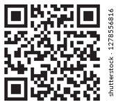 sample qr code icon | Shutterstock .eps vector #1278556816