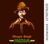 illustration of indian... | Shutterstock .eps vector #1278578233