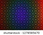 dark multicolor  rainbow vector ... | Shutterstock .eps vector #1278585670