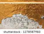 the paint peel off from cement... | Shutterstock . vector #1278587983