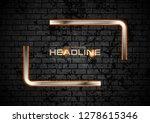 quote blank speech bubble...   Shutterstock .eps vector #1278615346