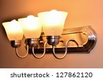 decorative lamp lined up | Shutterstock . vector #127862120