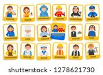 educational cards for children... | Shutterstock .eps vector #1278621730
