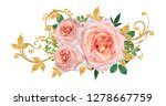 decorative ornament  paisley... | Shutterstock . vector #1278667759