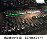 part of audio mixer and music... | Shutterstock . vector #1278669679