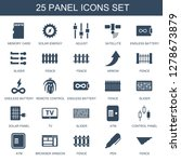 panel icons. trendy 25 panel... | Shutterstock .eps vector #1278673879
