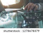business analysis and modern... | Shutterstock . vector #1278678379