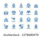 trees  plants blue line icon.... | Shutterstock .eps vector #1278680470