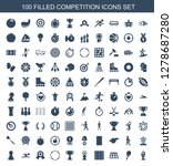 100 competition icons. trendy... | Shutterstock .eps vector #1278687280