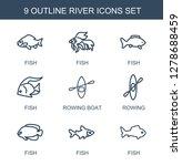 river icons. trendy 9 river... | Shutterstock .eps vector #1278688459