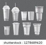 set of different takeaway... | Shutterstock .eps vector #1278689620