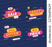special offer sale label and... | Shutterstock .eps vector #1278689629