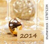 happy new year 2014 | Shutterstock . vector #127871234