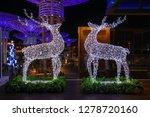 jumeirah beach residence dubai  ... | Shutterstock . vector #1278720160