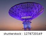 jumeirah beach residence dubai  ... | Shutterstock . vector #1278720169