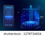 robot. artificial intelligence. ... | Shutterstock .eps vector #1278726826