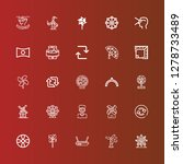 editable 25 rotate icons for... | Shutterstock .eps vector #1278733489
