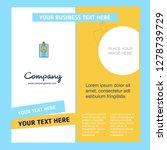 id card company brochure... | Shutterstock .eps vector #1278739729